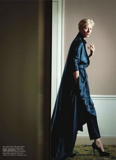 by Haider Ackermann    (This woman is so inspiring and talented)