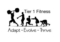 Logo Design by SteamCraven for Tier 1 Fitness, logo for new outdoor primal/functional physical training - Design #773626