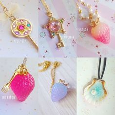 WEBSTA @ milkybon - Here are the remainder of necklaces that got added :)#etsy…