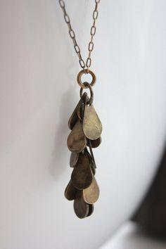 cascade necklace | by tara jackson jewelry #fashion #jewelry