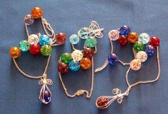 Recycle Reuse Renew Mother Earth Projects: How to make Cracked Marble Ornaments/ Jewelery