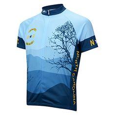 d192ce6e2 Amazon.com   Performance North Carolina Short Sleeve Jersey MEDIUM BLUE    Sports   Outdoors