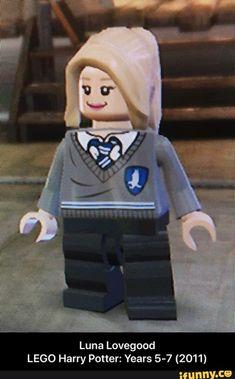 Luna Lovegood LEGO Harry Potter: Years 5-7 (2011) - Luna Lovegood                                                                         LEGO Harry Potter: Years 5-7 (2011)  – popular memes on the site iFunny.co #harrypotter #movies #legogames #legoharrypotter #lunalovegood #luna #lovegood #lego #harry #years #meme
