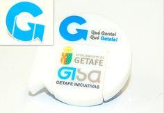¿Aún no tienes tu logotipo convertido en pendrive? ¡Mira qué chulo el del Ayuntamiento de Getafe! Pide una muestra virtual gratuita para tu empresa - USBModels