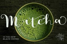 Matcha Family - Intro Offer 50% off! by Los Andes Type on @creativemarket