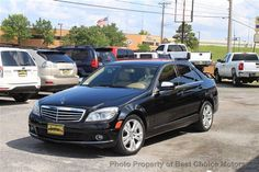 2008 Used Mercedes-Benz C-Class C300 4dr Sdn 3.0L Luxury 4MATIC at Best Choice Motors Serving Tulsa, OK, IID 12290391