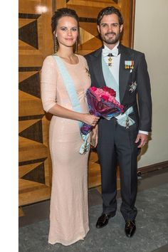 The royal and mom-to-be made Princess style affordable while wearing an ASOS sequin gown that retails for just $141 to a royal gala in Sweden.    - HarpersBAZAAR.com