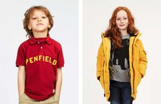 Primary colours are key for Penfield Kids winter 2014 collection