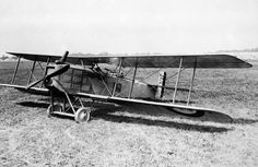 FRENCH AIRCRAFT FIRST WORLD WAR 1914 - 1918 (Q 67910)   Breguet 14 B2, two-seat day bomber biplane.