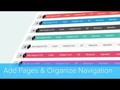 How To Add Pages and Organize Your Navigation Bar | Cylex Sitebuilder