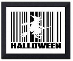 Halloween bar code