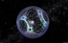 A fractal Dyson sphere under construction by Steve Bowers. A Dyson sphere is a hypothetical megastructure, fully enclosing a star, originally described by scientist Freeman Dyson in Uss Enterprise, Constellations, Planeta Nibiru, Kardashev Scale, Infrared Telescope, Search For Extraterrestrial Intelligence, Freeman Dyson, Solar Power Station, Spacecraft