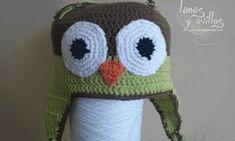 Crochet owl hat video tutorial