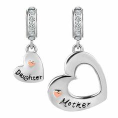 Inbeaut 100/% Argent sterling 925/Forever Love Box Pendentif c/œur livre Forme Charms pour bracelets de Charm et collier Bijoux en argent