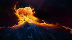 Reaching out to Burning Love HD Wallpaper
