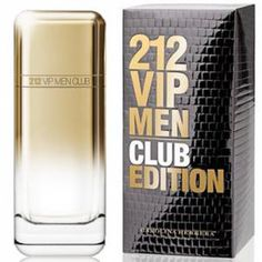 212 VIP Men Club Edition by Carolina Herrera.