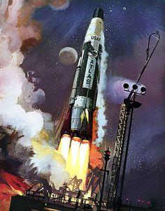 Robert-McCALL--atlas_rocket_1959