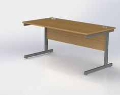 Classic Cantilever Desk with cable ports Drafting Desk, Office Furniture, Cable, Colours, Classic, Home Decor, Cabo, Derby, Decoration Home