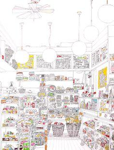 Marion Eichmann _ NY TO GO Zeichnungen