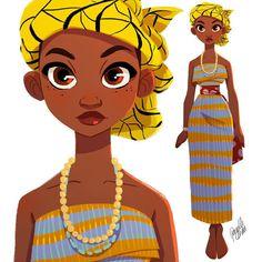 Inspired by #Ghana folk wear -- Pernille Ørum