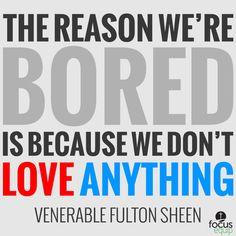Fulton Sheen! Boom!