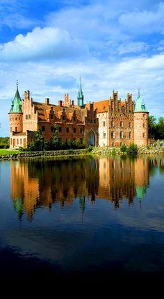 Denmark Travel Inspiration - Egeskov Castle, Denmark