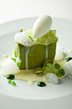 Sicilian pistachio cake,