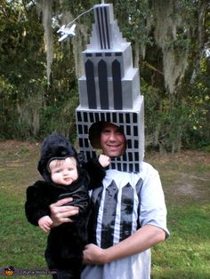King Kong & the Empire State Building - creative costume idea!