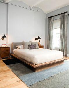 Flatiron Loft Renovation - eclectic - bedroom - new york - by Wolf & Wing Interior Design
