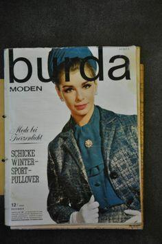 Burda Moden Dezember 1962 | eBay