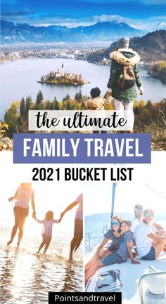 The best places to travel with your family in 2021 - the most kid friendly destinations to add to your bucket list. Travel with your family and explore the world with this family bucket list… More