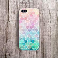 iPhone 6 case Hexagon Cell Phone Case iPhone 5 door casesbycsera