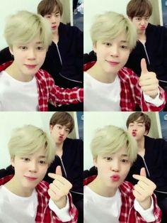 Jimin and Jin ❤ Cuties