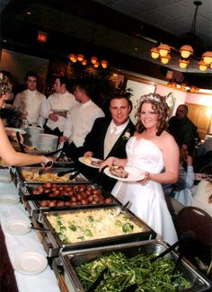 how to set up a wedding reception buffet | Table Decoration during a Wedding Reception