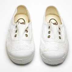 A variation to our ever popular canvas Darcie, is this version in broderie anglaise. Every little girl need a pair in white to go with every summer outfit. Girls Wedding Shoes, Summer Shoes, Summer Outfits, Parsons Green, Slippers For Girls, Summer Girls, Little Girls, Shoes Sandals, Pairs