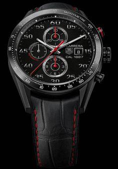 La Cote des Montres : Les montres TAG Heuer Carrera Calibre 1887 - Carrera 2013 : la nouvelle génération