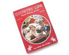 British Country Life Magazine • 1981 Royal Wedding • Charles Diana Issue by KatesChockfullAttic on Etsy