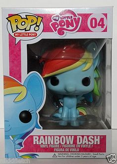 Very cute! New Pop Vinyl My Little Pony Figures   eBay. For ages 5+