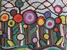 Сумка текстильная | Страна Мастеров Embroidery Stitches, Embroidery Patterns, Braided Rag Rugs, Textiles, Sewing Art, Beading Tutorials, Art Techniques, Fabric Scraps, Textile Art