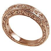 Antique Looking Mens Celtic Rings