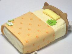 San-X Sumikko Gurashi Neko (Cat) Bed For Tenori Small Plush Doll Kawaii Toy