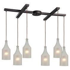 Elk Lighting Skylar 46005/6 6 Light Pendant - 46005/6