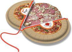 Packaging / frozen pizza concept #dominoscouldexpandmarket #frozendominospizzaideas: