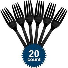 Check out Black Plastic Forks - Reduced Solid Tableware Accessories and Decorations from Wholesale Party Supplies Graduation Desserts, Plastic Forks, Wholesale Party Supplies, White Dinner Plates, Pink Foods, Birthday Supplies, Birthday Box, Beverage Napkins, Blue Plates