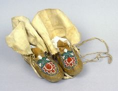 Moccasins - Ethnology Collections Database - Burke Museum