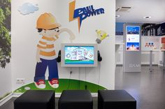 Offering a fun way to learn thanks to digital signage