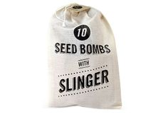 10 Seed Bombs with Slingshot