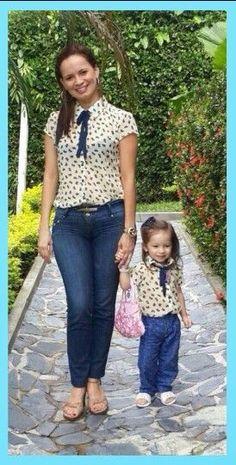 ropa de moda para mamá e hija - Buscar con Google