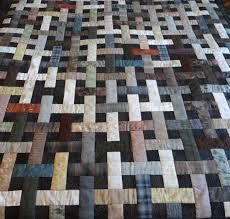 Basket Lattice in Taupe - Pattern by Sheri Pape Designs Japanese Quilt Patterns, Japanese Quilts, Japanese Textiles, Japanese Fabric, Yoko Saito, Plaid Quilt, Tie Quilt, Jellyroll Quilts, Scrappy Quilts