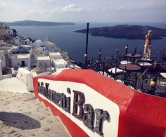 Fira is the capital of Santorini. It can be found on the west coast of the island, perched on the edge of an impressive cliff with amazing views of the caldera and the volcano itself.